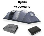 Kampa Watergate 6 Tent 2020  (Inc Carpet + Footprint)